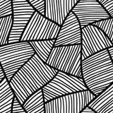 Puin (naadloos vectorbehang) Stock Foto
