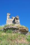 Puin van het oude kasteel Stock Afbeelding