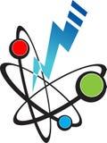 Puissance atomique illustration libre de droits