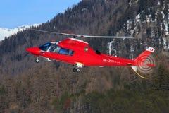 Puissance d'Agusta A109E Images libres de droits