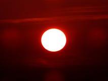 Puissance de coucher du soleil tropical Image stock