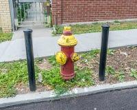 Puissance de feu de bouche d'incendie Photos stock