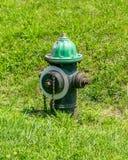Puissance de feu de bouche d'incendie Image libre de droits