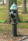 Puissance de feu de bouche d'incendie Photos libres de droits