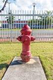 Puissance de feu de bouche d'incendie Images libres de droits