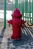 Puissance de feu de bouche d'incendie Photographie stock