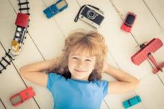 Puissance de fille Photographie stock libre de droits