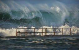 Puissance de l'océan Photographie stock libre de droits