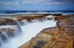 Puissance de l'océan Photo libre de droits