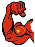 Puissance de la Chine illustration stock