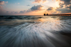 Puissance de la mer Photo libre de droits