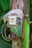 Puissance de mètres électriques Photos libres de droits