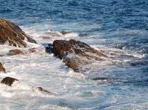 Puissance des vagues Photographie stock libre de droits
