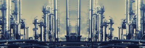 Puissance et énergie, pétrole et gaz Images libres de droits