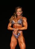 Puissance femelle de muscle Photographie stock libre de droits