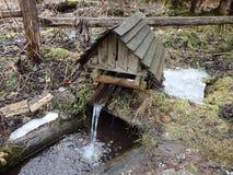 Puits d'eau, images libres de droits