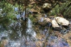 Puits d'eau au Portugal rural photo stock