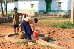 Puits d'eau en Inde Photographie stock