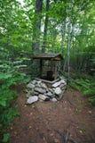 Puits de forêt Image stock