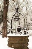 Puits de neige images libres de droits