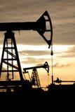 Puits de pétrole photo stock