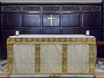 PUITS DE TUNBRIDGE, KENT/UK - 5 JANVIER : Intérieur de la paroisse ch Images stock
