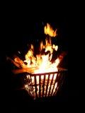 Puits du feu Photographie stock
