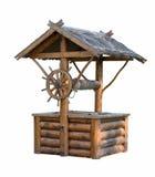 Puits en bois photographie stock libre de droits