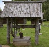 Puits en bois Image libre de droits