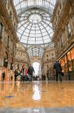 Puits Vittorio, Milan Image libre de droits