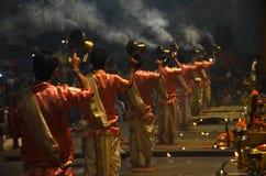 Puja (adoración) Foto de archivo libre de regalías