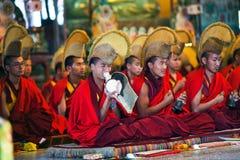 Puja ceremoni, Nepal Royaltyfri Foto