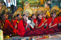 Puja Ceremony, Nepal Royalty Free Stock Photo