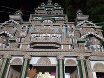 Puja di Durga a Patna & x28; Bihar& x29; fotografie stock libere da diritti