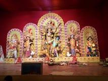 Puja 2017 Durga Стоковое Фото