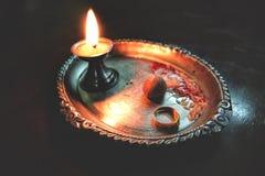 Puja Thali στοκ φωτογραφία με δικαίωμα ελεύθερης χρήσης