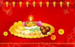 Puja Thali Stock Photos