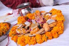 Puja Thali Stock Image