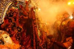 Pujafestival van Durga Royalty-vrije Stock Fotografie