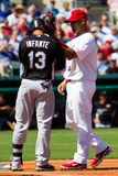 Pujols and Infante Royalty Free Stock Photography