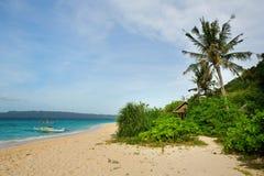 Puka beach on Boracay, Philippines. Puka beach on Boracay island, Philippines Stock Photography