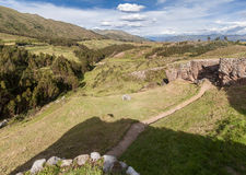 Puka Pucara Cusco Peru Lizenzfreie Stockfotos