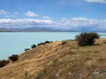 Pukaki lake Stock Images