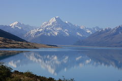 Pukaki Reflections Stock Photography