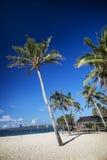 Pukastrand in tropisch paradijs boracay Filippijnen Stock Fotografie