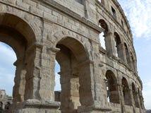 pula назначения Хорватии амфитеатра турист стародедовских известных римский Стоковая Фотография RF