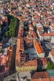 Pula aerial, Croatia Stock Photography