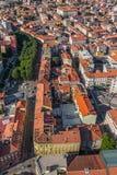 Pula aerial, Croatia Stock Photography