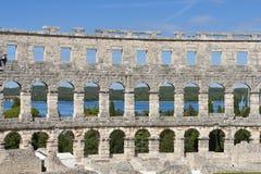 pula amphitheatre римские Стоковые Изображения