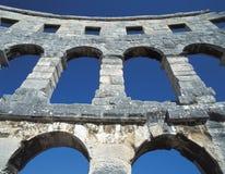 pula amphitheatre Стоковое Изображение RF